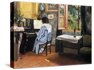 Lady at the Piano, 1904 by F?lix Vallotton