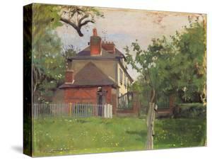 Villa Beaulieu, Honfleur, 1909 by F?lix Vallotton