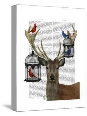 Deer and Bird Cages by Fab Funky