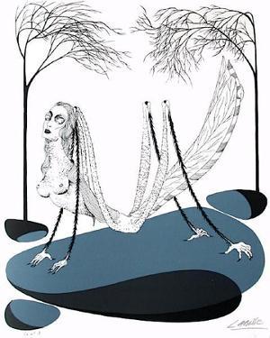 Histoire naturelle : la Locuste by Felix Labisse