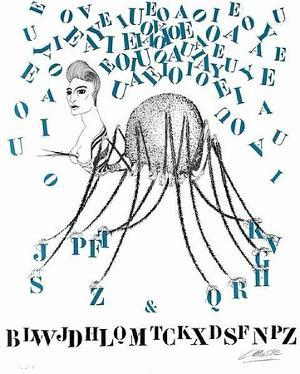 Histoire naturelle : la Tarentule des Lettres by Felix Labisse