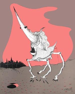 Histoire naturelle : le Perce-Aurore by Felix Labisse