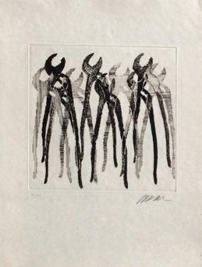 Bouches Ouvertes by Fernandez Arman