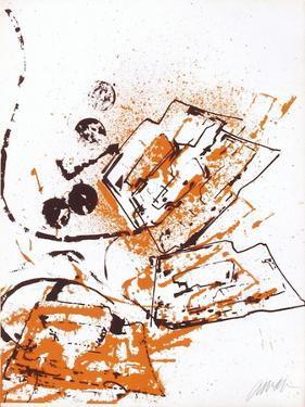 L'Interieur des Choses - le Fer a Repasser by Fernandez Arman