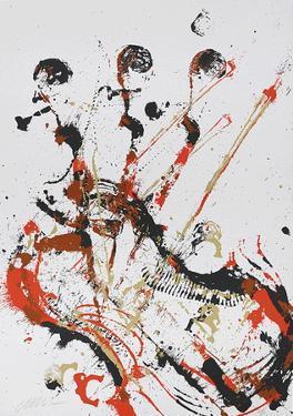 Melody for strings I by Fernandez Arman