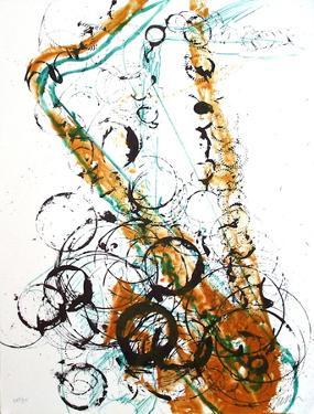 Saxophone I by Fernandez Arman