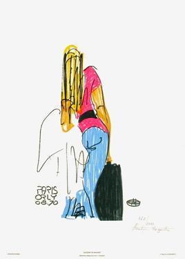 Excédent de bagages - Paris Orly 08.70 by Florent Margaritis