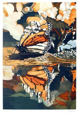 Monarch Butterfly by Fran Bull