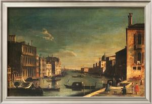 Grand Canal Venice, Looking East by Francesco Fironi