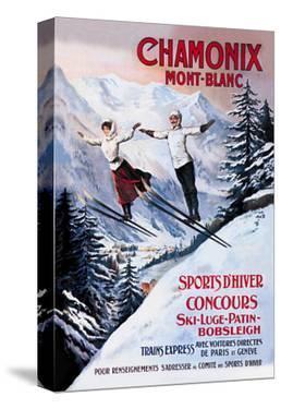 Chamonix Mont-Blanc by Francisco Tamagno