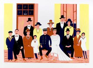 Family Portrait by Francois Ledan