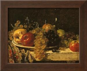 Grapes and Apples by François Miel