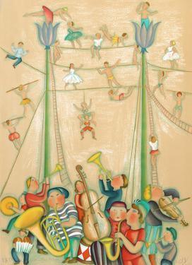 Le Cirque by Francoise Deberdt