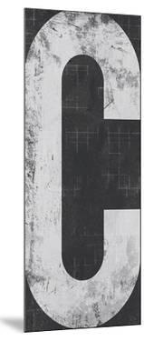 Industrial Alphabet - C by Frazier Tom
