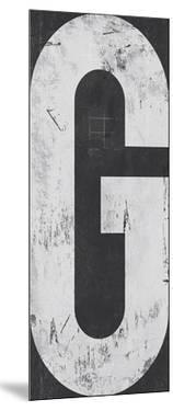 Industrial Alphabet - G by Frazier Tom