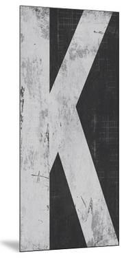 Industrial Alphabet - K by Frazier Tom