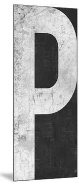 Industrial Alphabet - P by Frazier Tom