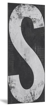 Industrial Alphabet - S by Frazier Tom