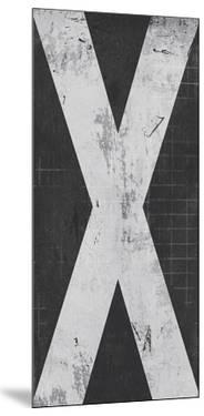 Industrial Alphabet - X by Frazier Tom