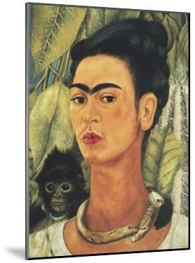 Self-Portrait with Monkey, 1938 by Frida Kahlo