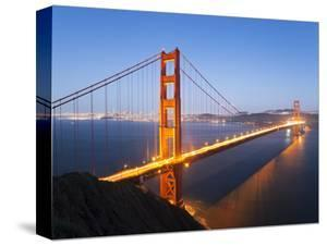 Golden Gate Bridge, San Francisco, California, United States of America, North America by Gavin Hellier