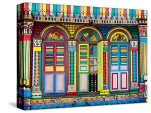Singapore, Little India, Colourful Heritage Villa, Once the Residence of Tan Teng Niah by Gavin Hellier