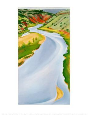 Chama River, Ghost Ranch, 1937 by Georgia O'Keeffe