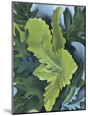 Green Oak Leaves, c.1923 by Georgia O'Keeffe
