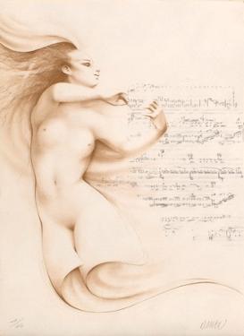 Muse I (ocre) by Gerard Daran