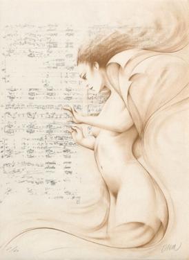 Muse II (ocre) by Gerard Daran