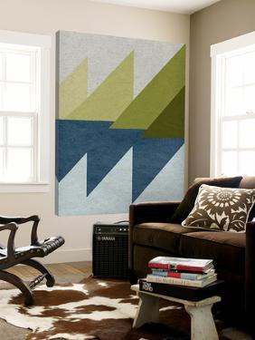 New Linen Geometrics D by GI ArtLab