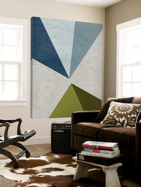 New Linen Geometrics E by GI ArtLab