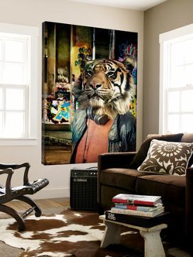Tiger on the Prowl by GI ArtLab