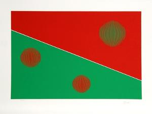 Red and Green by Gisela Beker