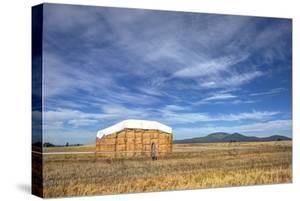 Rural Landscape of Haystack. by gjphotography
