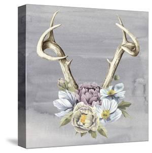 Antlers & Flowers I by Grace Popp