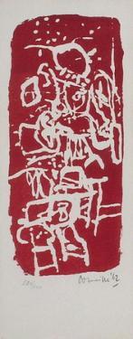 Carte de voeux 1963 by Guillaume Corneille