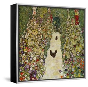 Gardenpath with Hens, 1916 by Gustav Klimt