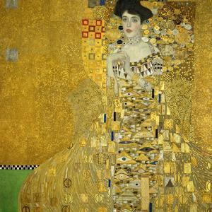 Mrs. Adele Bloch-Bauer, 1907 by Gustav Klimt