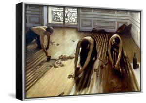 Caillebotte: Planers, 1875 by Gustave Caillebotte