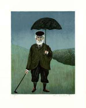Rainy Day in Scotland by Guy Buffet