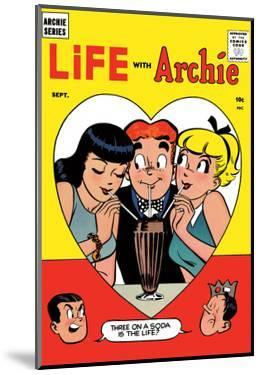 Archie Comics Retro: Life with Archie Comic Book Cover No.2 (Aged) by Harry Lucey