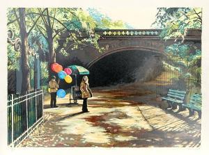 Balloons in Central Park by Harry McCormick