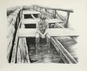 Boy on the Bridge by Harry McCormick