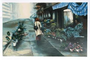 Flower Market by Harry McCormick