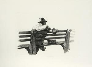 Man Waiting by Harry McCormick