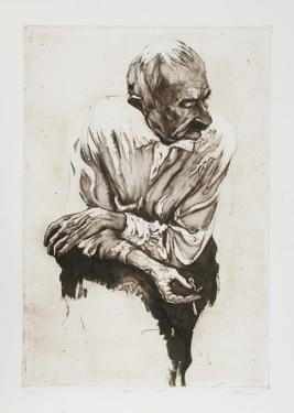 Man with Cigarette by Harry McCormick