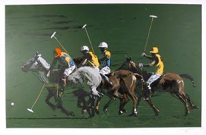 Polo Fields by Harry Schaare