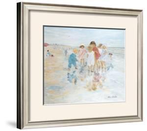 Barefoot at the Seashore by Hélène Léveillée