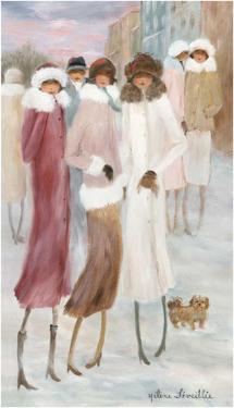 Belle sortie d'hiver by Hélène Léveillée